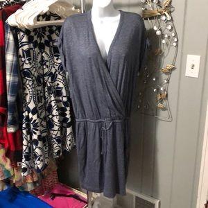 NWT Loft Outlet blue dress size medium